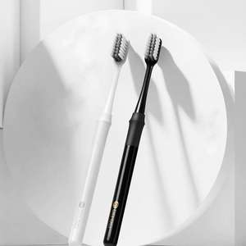 Szczoteczka bambusowa biała DR.Bei Xiaomi Youpin z pokrowcem - 2.98$
