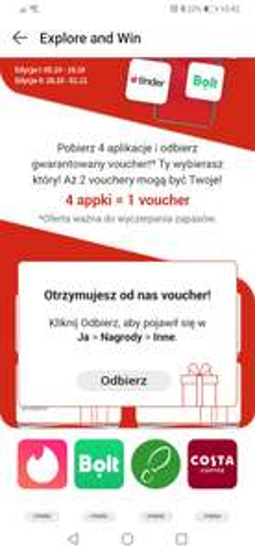Darmowy bon na 50 zł do eobuwie po pobraniu 4 aplikacji na Huawei
