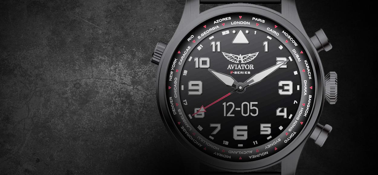 Szybka oferta na zegarki AVIATOR