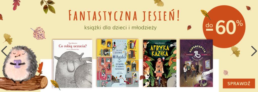 Książki dla dzieci i młodzieży do -60%