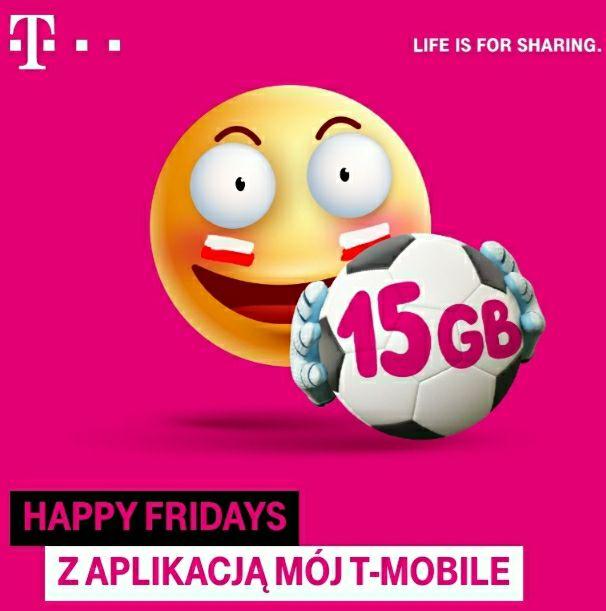 15 GB w prezencie od T-Mobile (do odebrania w aplikacji Mój T-Mobile)