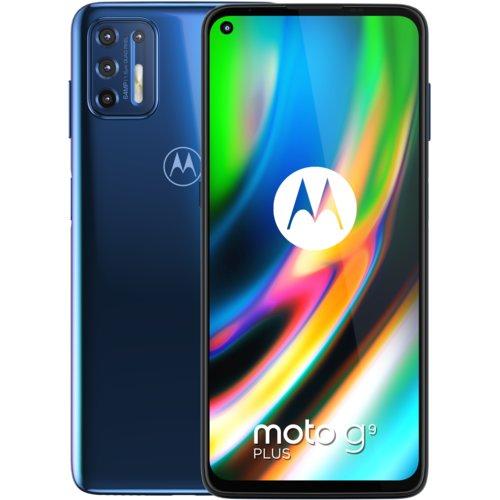 Smartfon Motorola Moto G9 Plus (4/128GB, niebieski lub różowy) @ Media Expert