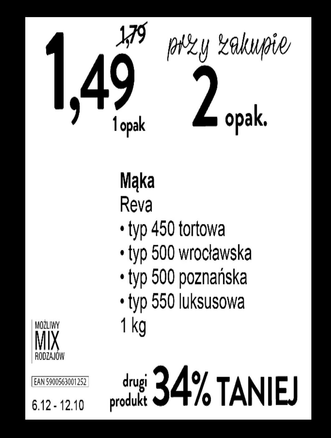 Mąka Reva - Intermarche