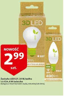 Żarówka LED E27 lub E14 @Auchan