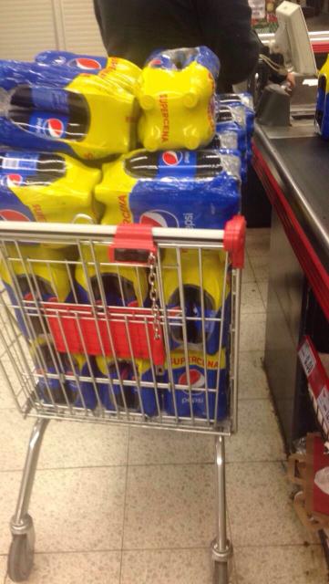 Kaufland Pepsi 4x1l (7zl)