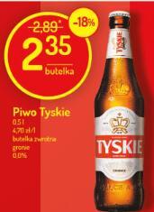 Piwo Tyskie - gronie lub 0%