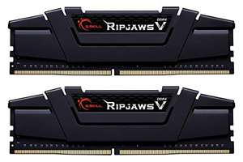 Gskill F4-3200C16D-32GVK Memory D4 3200 32GB C16 RipV K2 2X 16GB, 1,35V, RipjawsV, kolor czarny -113,48 €