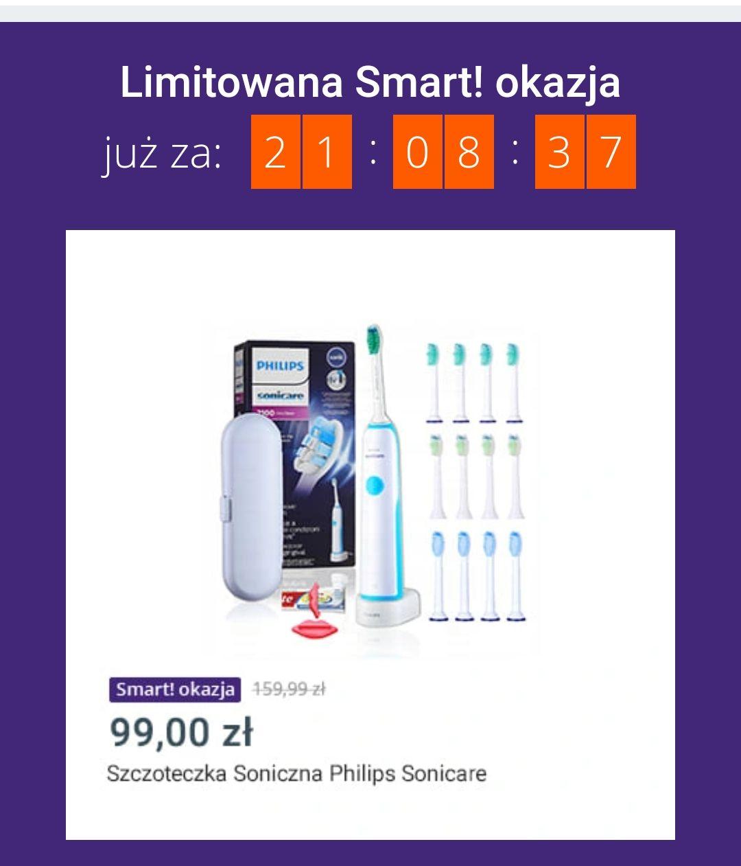 Szczoteczka Philips Sonicare zestaw w Smart okazjach Allegro