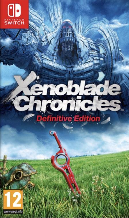 Xenoblade Chronicles Definitive Edition Nintendo Switch