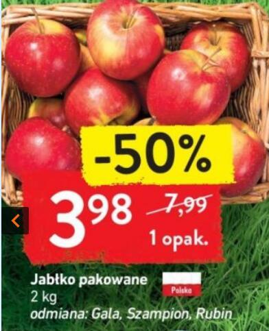 Jabłka 2 kg/opak.|Jabłka zielone Mutzu 2,29 zł/kg @Intermarche