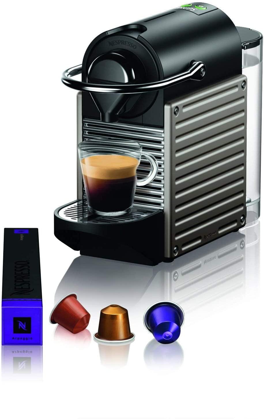 Kapsułkowe ekspresy do kawy - Krups, De'Longhi @ Amazon