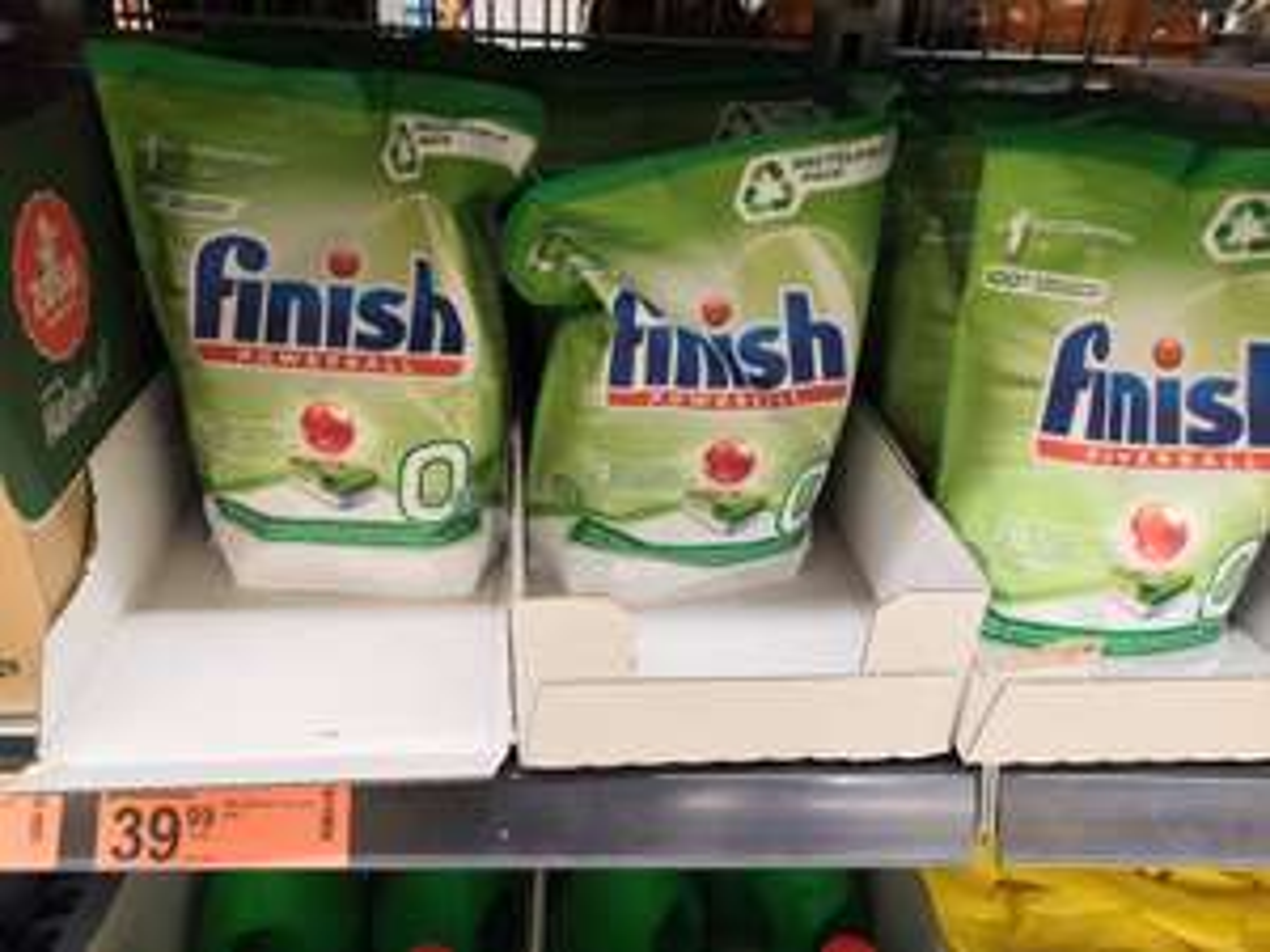 Finish Powerball Zero 0% - 70 sztuk - tabletki ekologiczne do zmywarek