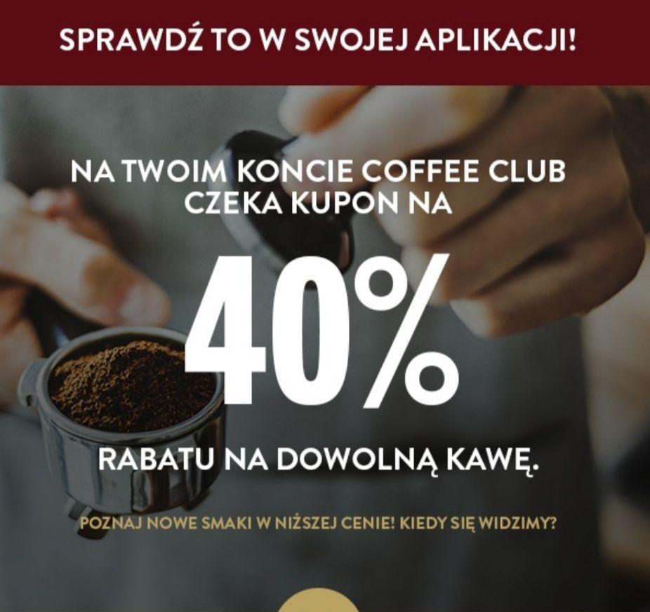 Kupon - 40% na dowolną kawę w Costa Coffe