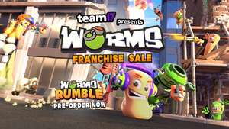 Worms W.M.D 75% taniej na steam oraz promocja na wszystkie gry z serii Worms oraz DLC 75-81% taniej