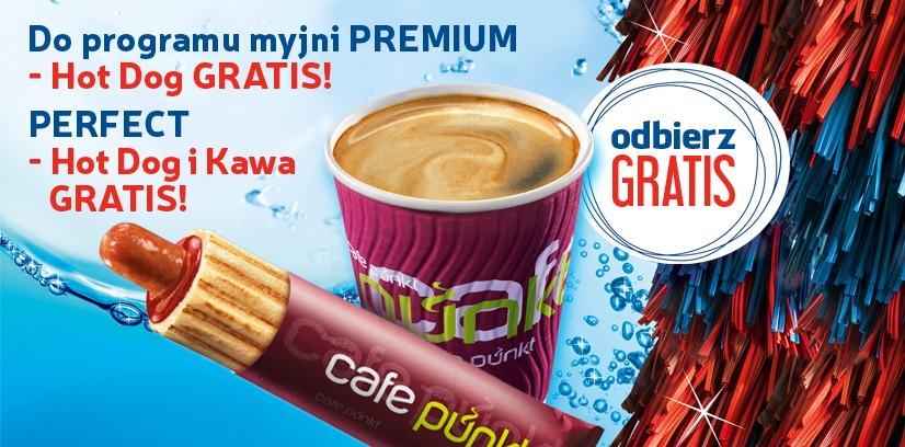 Hot dog i/kawa gratis za skorzystanie z myjni @ Lotos
