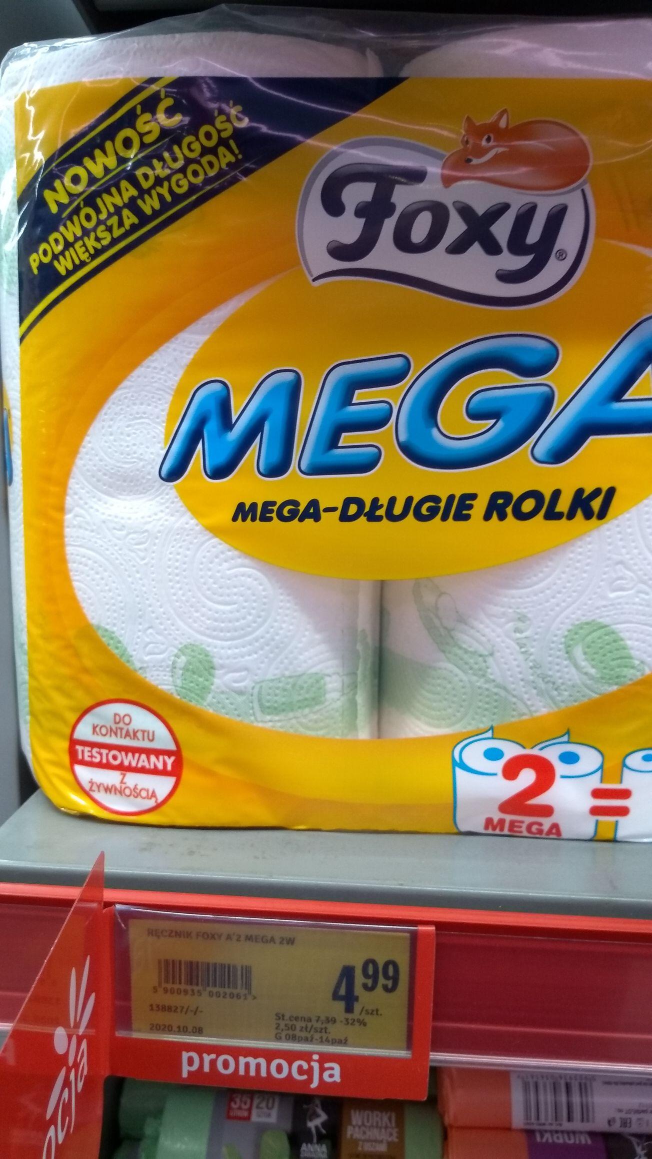 Ręcznik papierowy Foxy Mega w Stokrotka