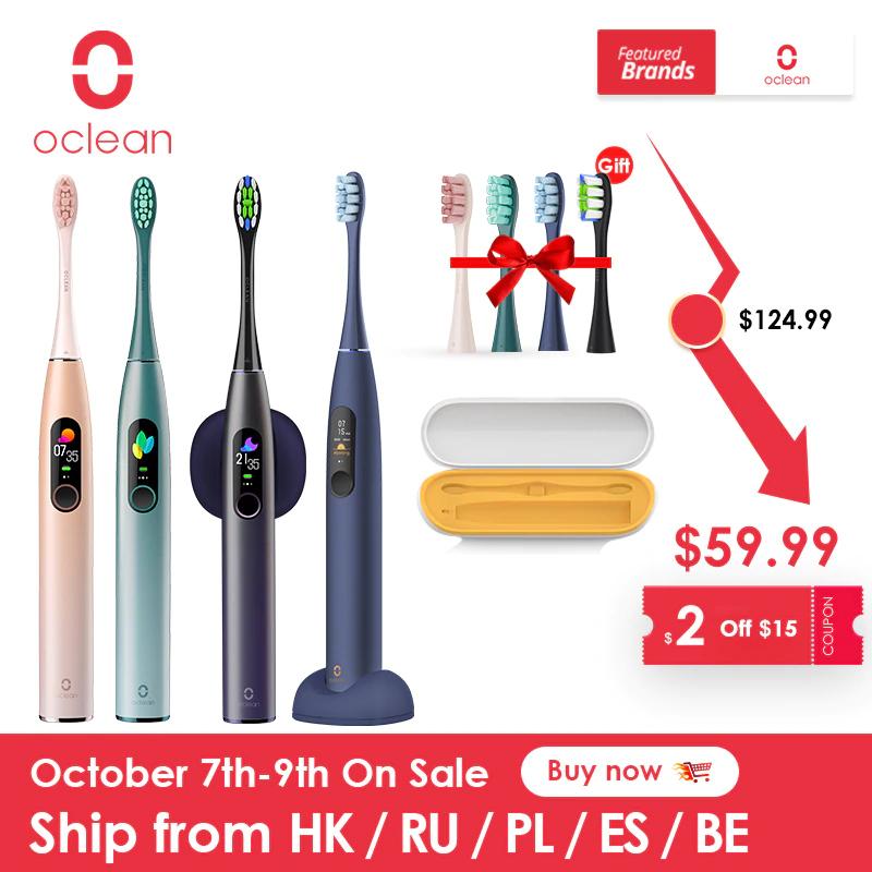 Szczoteczka soniczna Oclean X Pro za 39,99$ z Polski @ AliExpress