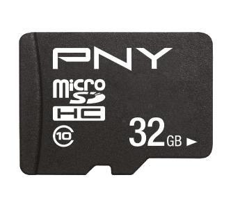 Karta pamięci PNY Performance Plus microSD 32GB 100/10MB/s (lub Kingston 32GB za 12zł) , odbiór w sklepie 0zł