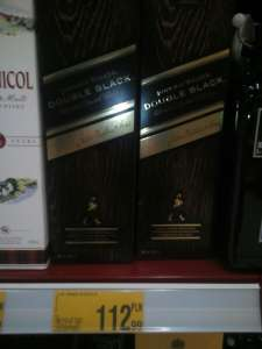 Johnnie Walker Double Black 0,7l za 112,99zł @ Auchan