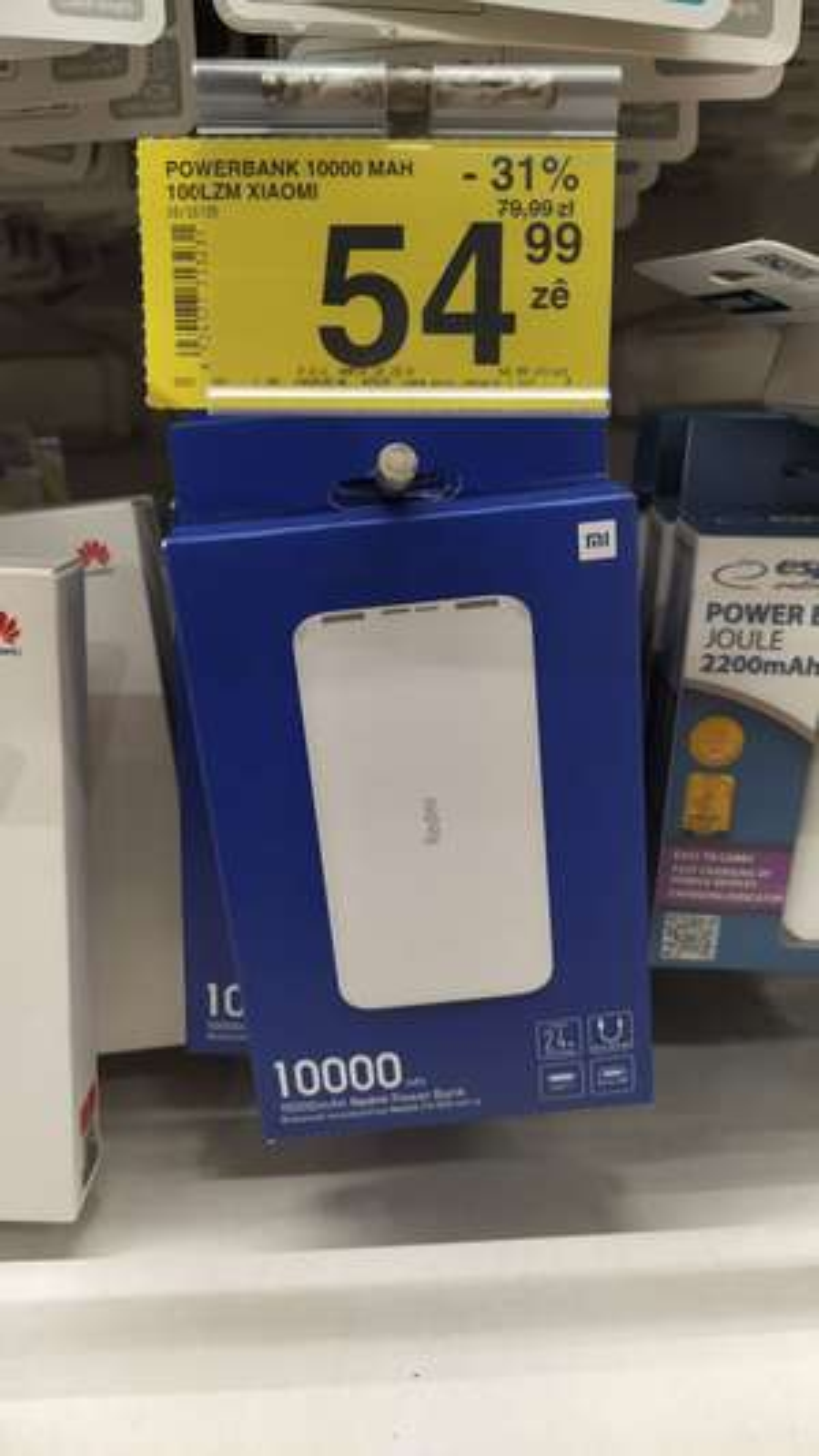 Powerbank Xiaomi 10 000 mAh