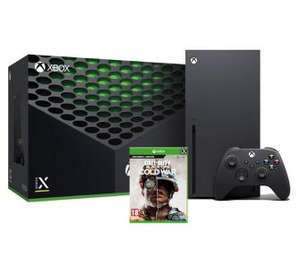 RTVeuroAGD Xbox Series X + Call of Duty: Black Ops Cold War.