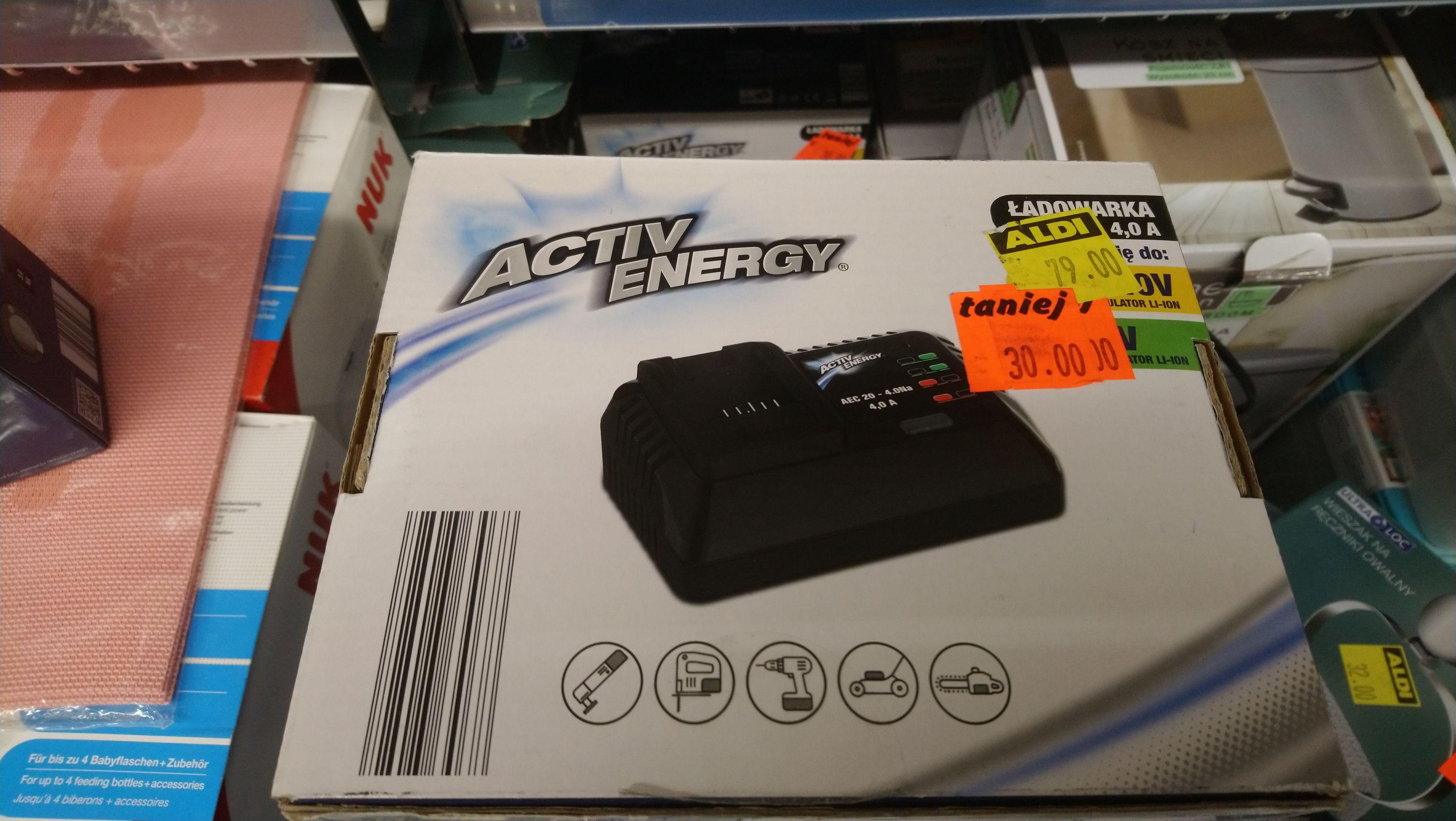 Ładowarka Activ Energy 4.0 A 20/40V Aldi Siemianowice Śląskie