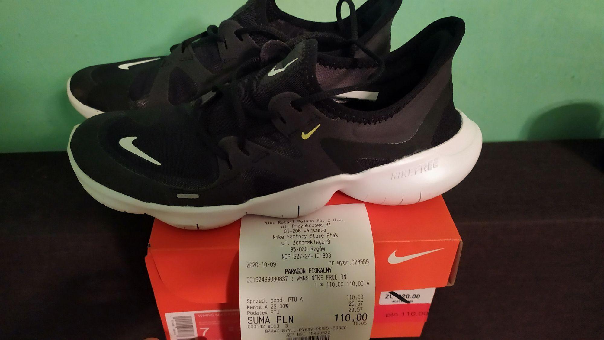 Buty damskie Nike free RN 5.0 2 Ptak Outlet
