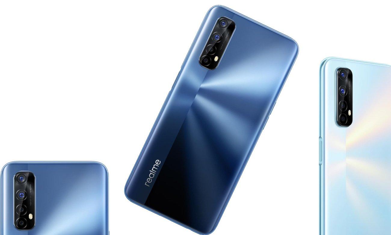 Realme 7 4+64GB Mist ekran 90Hz, NFC,Ładowarka 30W. 36 miesięcy (gwarancja producenta)