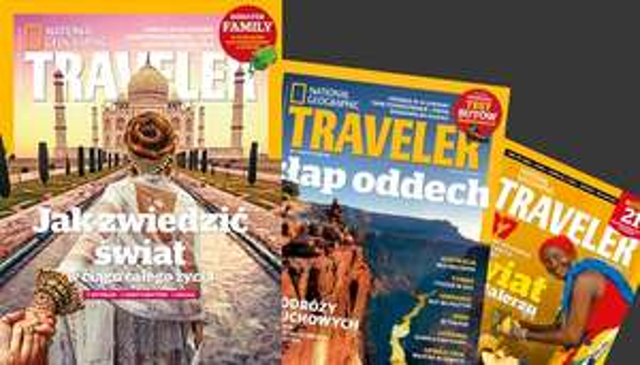 Roczna prenumerata National Geographic Traveler za 66,24zł @ MyDeal