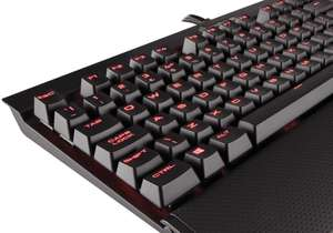 Klawiatura mechaniczna Corsair CH-9101021-UK K70 LUX Cherry MX Blue w amzazon.co.uk