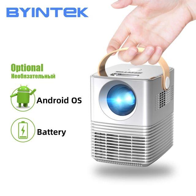 BYINTEK C720 przenośny, w pełni HD 1080P 3D do projekcji w domu teatr Mini projektor LED projektor Beamer US $137.90