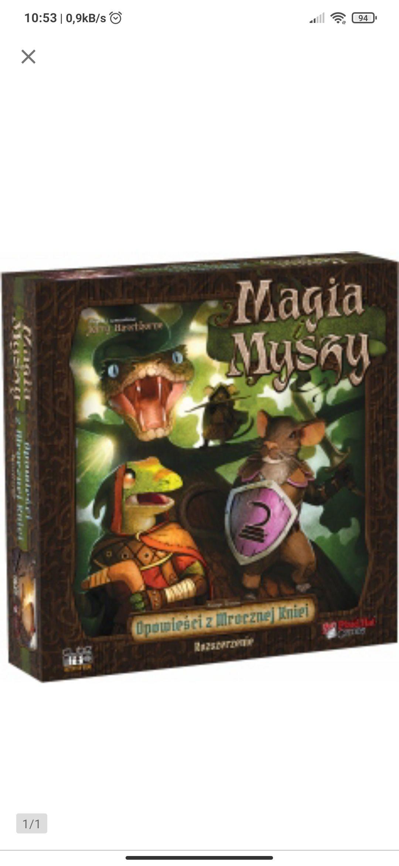 Magia i myszy: mroczna knieja