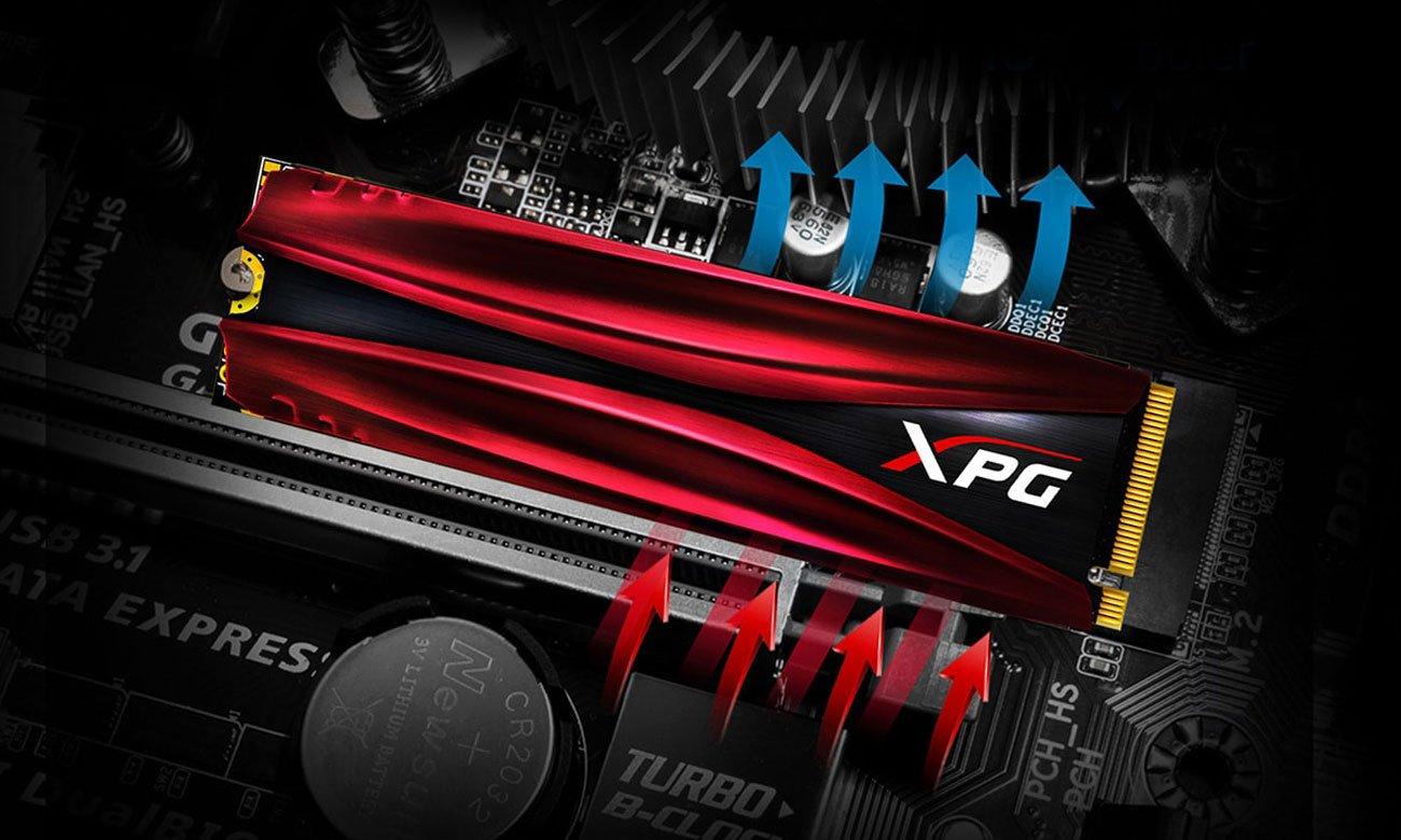 x-kom szybki strzał: Dysk SSD ADATA 512GB M.2 PCIe NVMe XPG GAMMIX S11 Pro