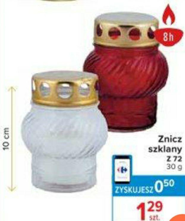 Maly znicz szklany - Carrefour