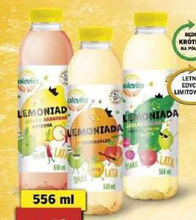 Lemoniada Solevita Smak Lata 556ml @Lidl