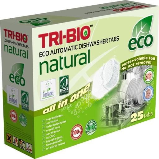 Ekologiczne kapsułki do zmywarki Tri-Bio