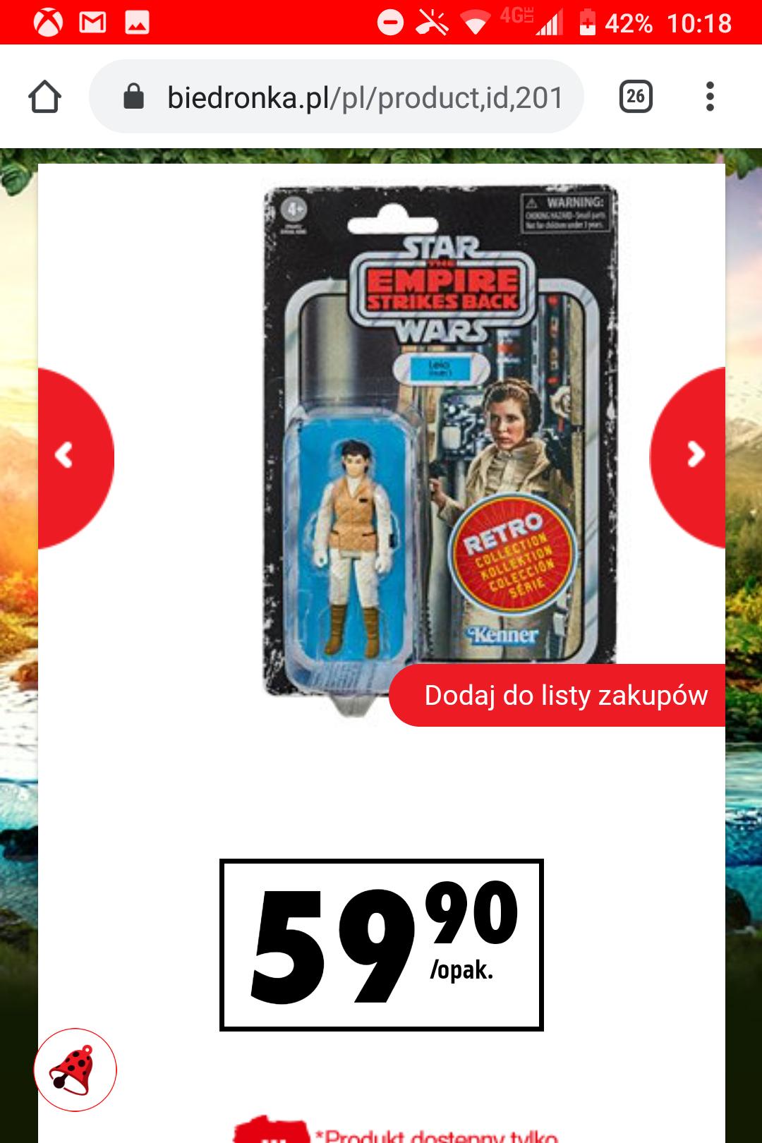 Figurki Star Wars Kenner i inne