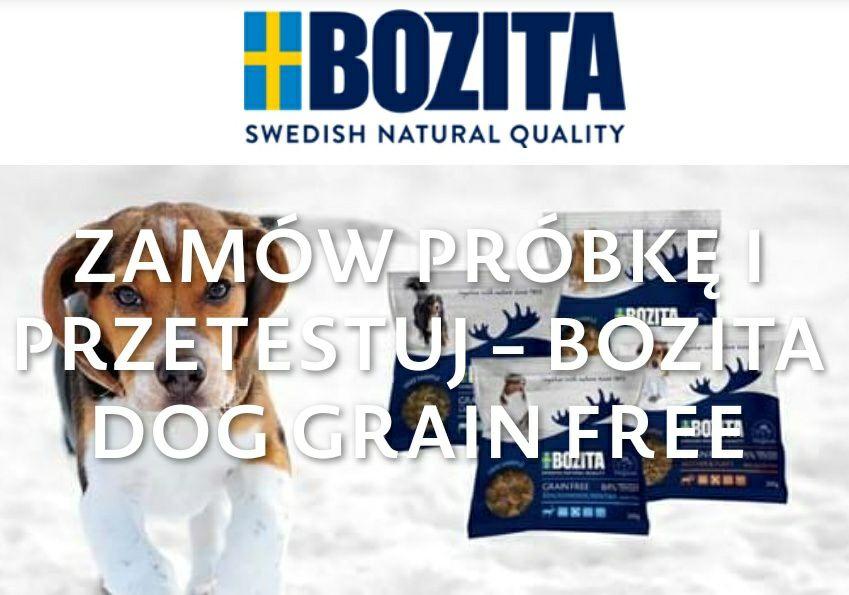 ZA DARMO Próbka karmy Bozita bez dodatku zbóż dla psów