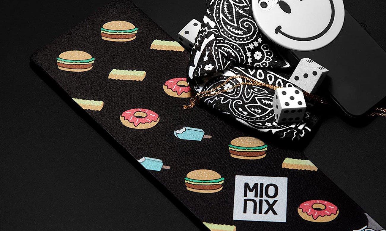 Podkładka Mionix Long Pad Black (440x100x10)mm