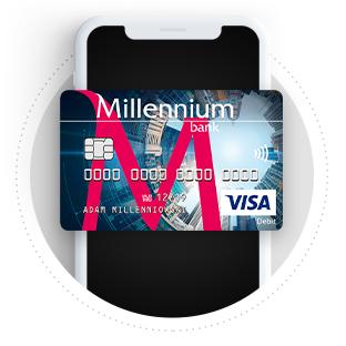 Do 500 zł z Millennium ( 200 konto + 300 karta(
