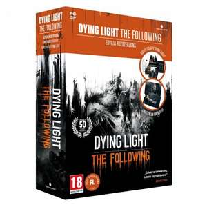 Gra Dying Light Enhanced Edition PC + pendrive 8GB +karty do gry