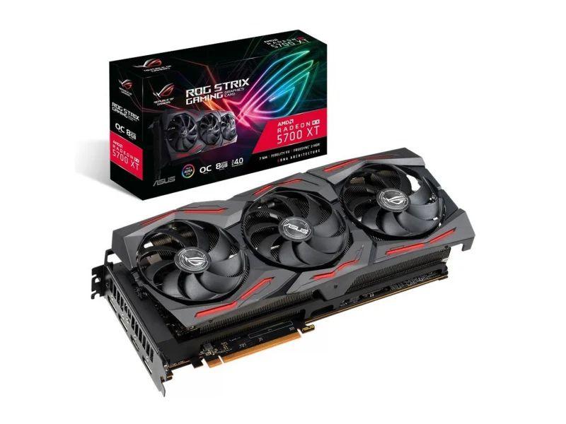 Karta graficzna ASUS Radeon RX 5700 XT ROG Strix Gaming OC 8GB GDDR6. Darmowa dostawa do salonów xkom.