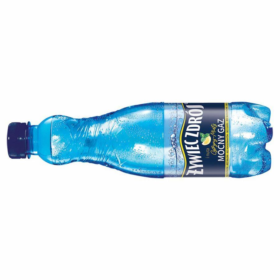 Woda Żywiec Zdrój z nutą cytryny i mięty 500 ml Tesco