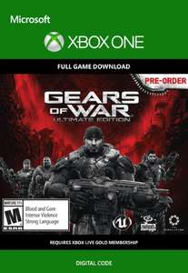 Gears of War: Ultimate Edition Xbox One (Digital Code)