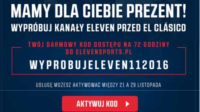 Kanały Eleven za darmo !