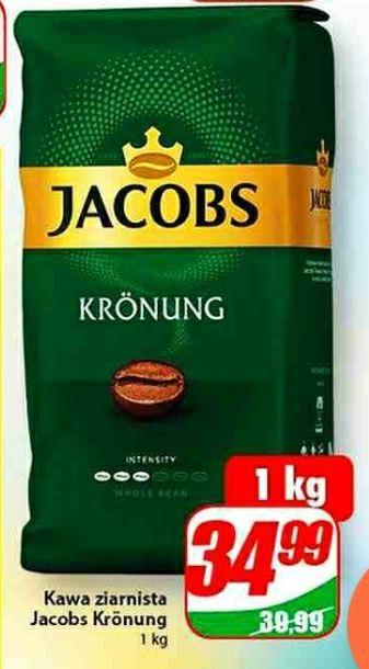 Jacobs Kronung 1kg ziarnista. Dino.