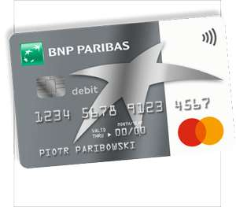 Do 650 zł z BNP Paribas (konto + karta kredytowa)