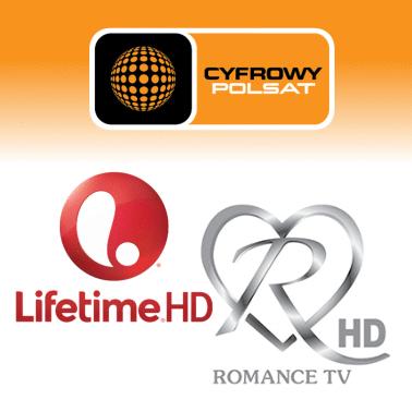 @Cyfrowy Polsat Odkodowane kanały: Lifetime HD i Romance TV HD