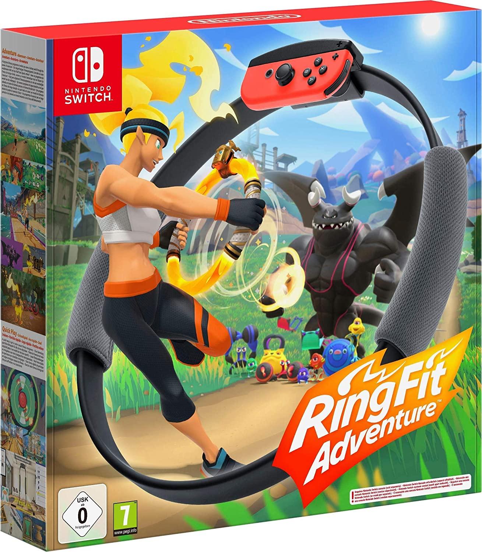 Ring Fit Adventure - Nintendo Switch z amazon.de