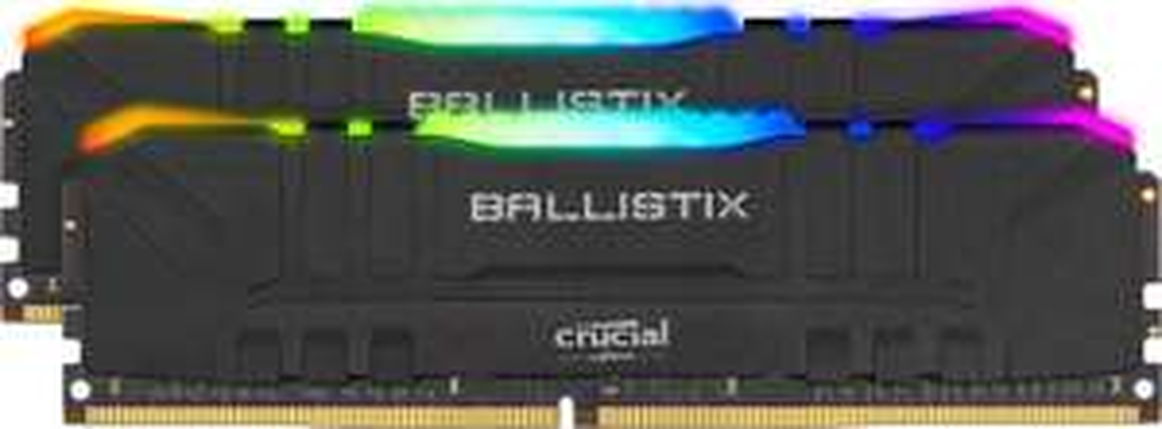 RAM Crucial Ballistix RGB DDR4 16GB (2x8) 3200mhz CL16 E-die